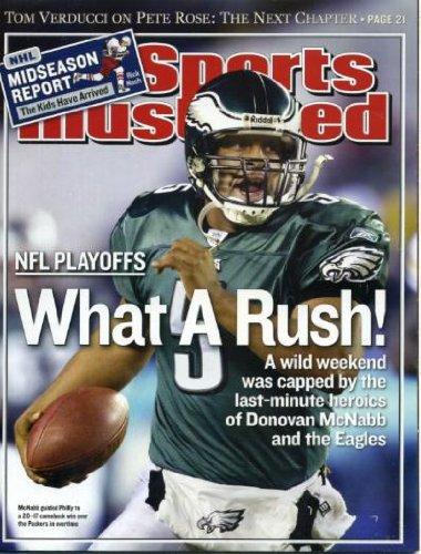 (Sports Illustrated / January 19, 2004 / Donovan McNabb, cover; Tom Brady, NFL Playoffs; Adam Morrison; Peja Stojakovic; NHL; Bird-Watching)