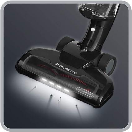 Rowenta RH6545 Aspiradora, 0.65 litros, 80 Decibelios, Acero Inoxidable, 2 Velocidades, negro brillante: Amazon.es: Hogar