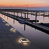 Solar Deck Lights, Ground Driveway Walkway Dock