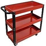 Dragway Tools 3 Tray Service Cart 150 LBS Load