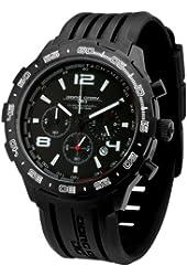 Jorg Gray JG1600 Men's Quartz Chronograph Rubber Strap Watch