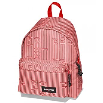Eastpak Patterned Padded Pak r Rucksack Bag Backpack NEW Choose Style  (Stripe Type Red)  Amazon.co.uk  Clothing