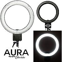 AURA Ring Light - Large, 19-Inch, 55W Soft Fluorescent Ring Light for Pro Studio Lighting - Shadowless Studio Lighting for Videos, Still Photography, YouTube Videos, Vlogging, Portraits & More