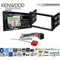 Volunteer Audio Kenwood DNX574S Double Din Radio Install Kit with GPS Navigation Apple CarPlay Android Auto Fits 1996-2000 Hyundai Elantra, 1995-1998 Sonata
