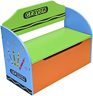 Kiddi Style Childrenu0027s Wooden Toy Storage Box and Bench  sc 1 st  Amazon UK & Kiddi Style Children Sized Storage Unit: Amazon.co.uk: Baby
