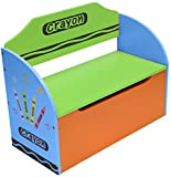 Bebe Style Children's Wooden Toy Storage Box and Bench