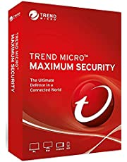 Trend Micro Maximum Security 2021 5 devices 3 years multilingual for PC, Mac, Android and iOS Product key card Windows 8.1 and 10