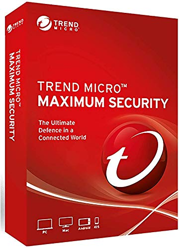 Trend Micro Maximum Security 2020 Version 16 3 Devices 3 Years for...
