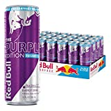 red bull can - Red Bull Sugarfree Purple Edition, Acai Berry Energy Drink, 12 Fluid Ounce Cans (Pack of 24)