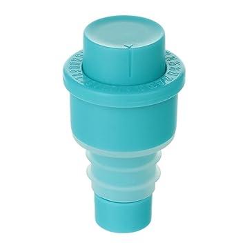 Ansee reutilizable al vacío para botella de vino tapas tapón Saver vacío de vino tapones para