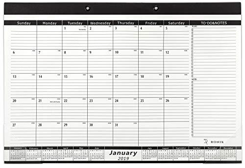 Desk Calendar 2019-2020: 17