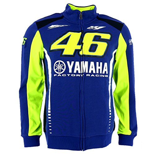Valentino Rossi VR46 Moto GP M1 Yamaha Factory Racing Team Hoodie Official 2017