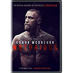 CONOR McGREGOR: NOTORIOUS debuts on Digital and On Demand Nov. 21 and on DVD Dec. 5 from Universal