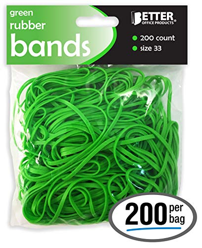 Garbage Cans Coopay 180 Pack Large Rubber Bands Red Heavy Duty Trash Can Band Size 8 inches Strong Elastic Bands for Office Supply File Folders