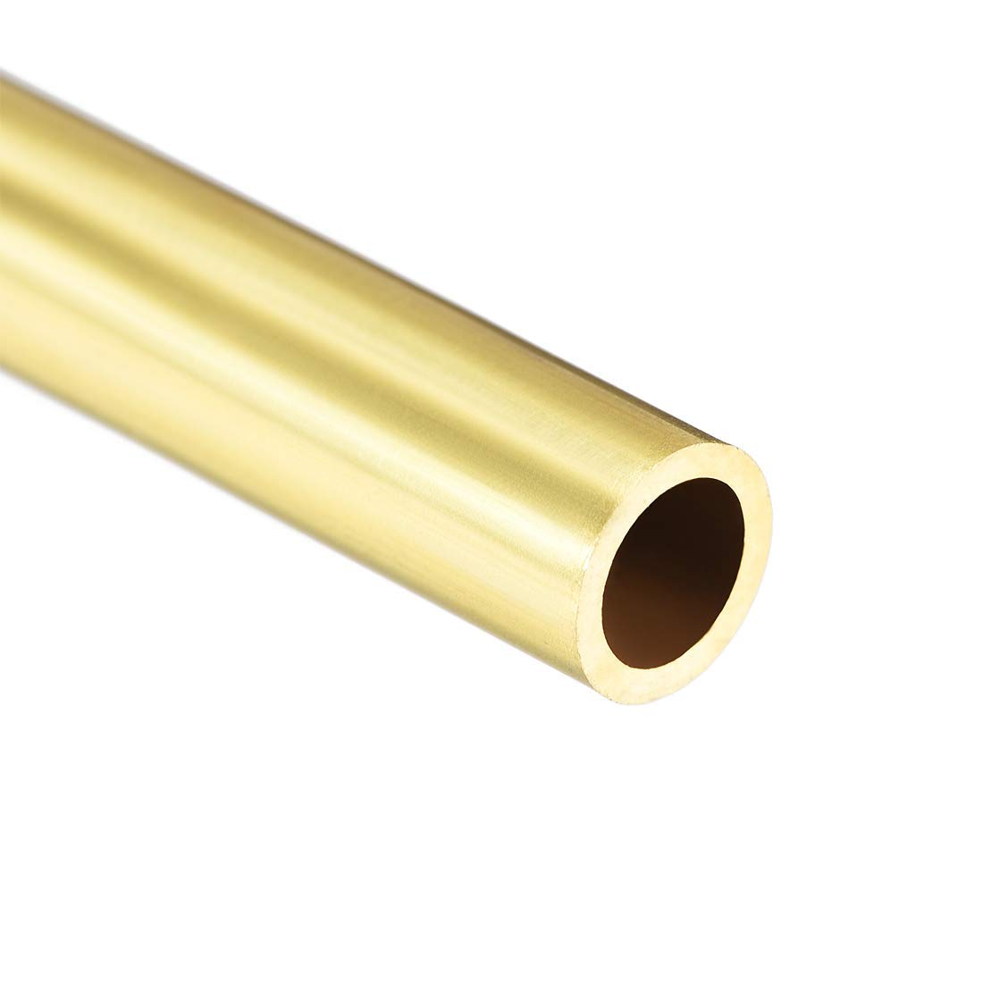 Round Brass Tube 300 mm Length 7 mm OD 1 mm Wall Thickness Seamless Straight Pipe Tube