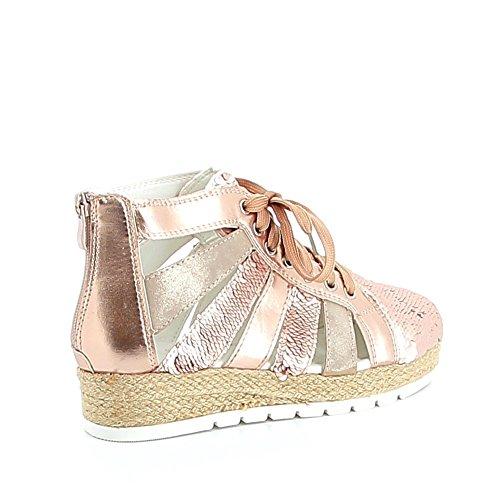 Misstic - Zapatillas de Deporte de Material Sintético Mujer champán