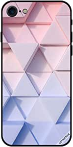 Case For iPhone 7 - Triangle Shapes Pattern