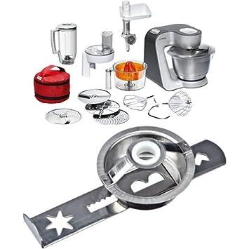 Amazon.de: Bosch MUM56S40 Küchenmaschine Styline MUM5 inkl. Bosch ...