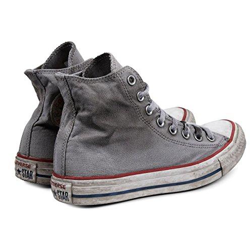 Alte Sneakers Grigio All High Grigio Canvas White Smoke Op LTD Converse adulto In Chuck Tela Taylor Star Unisex FBwZ6B