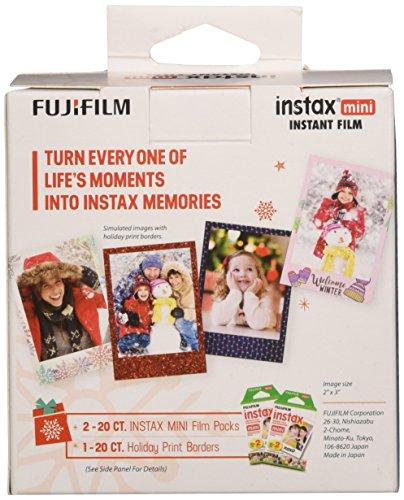Fujifilm Instax Mini Film Holiday Value Pack - 40 Exposures