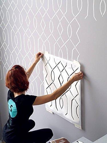 Moorish Trellis Wall Stencil for Painting - Expedited 3 days