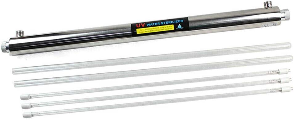 Purificador de agua ultravioleta 12 GPM esterilizador 55 W filtro ...
