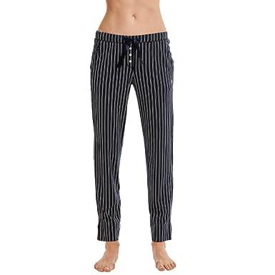 Marc O/'Polo Body /& Beach Damen Pyjamahose in Jersey-Qualit/ät