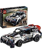 LEGO 42109 Technic Top Gear Rallyauto met app-bediening, Afstandbestuurbare Auto Speelgoed voor Kinderen vanaf 9 jaar