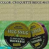 "100yds 1/2"" Schiff Seam Binding Hug Snug Ribbon Color Croquette Beige #015"