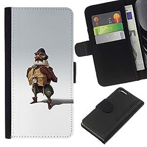 ZCell / Apple Iphone 5C / Pilot Man Attire Uniform Art Painting Fly / Caso Shell Armor Funda Case Cover Wallet / Piloto hombre Vestimenta Uniform