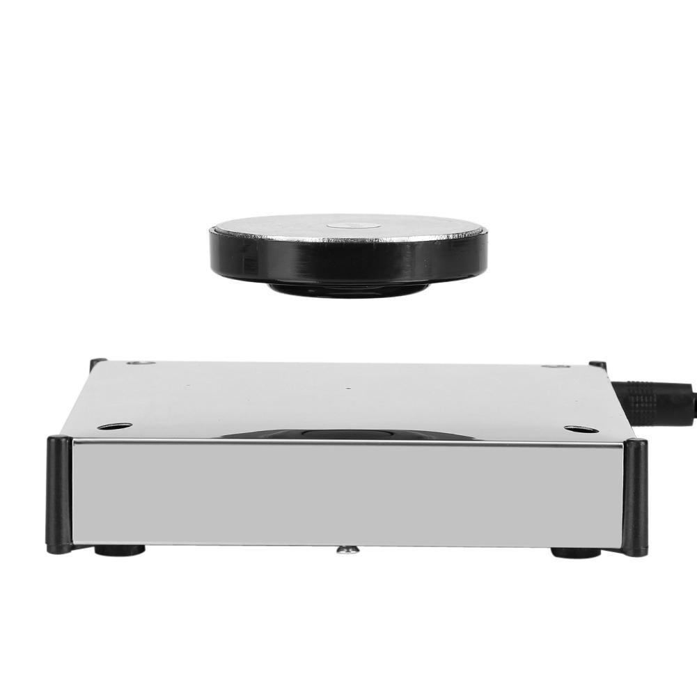 磁気浮上プラットフォーム 磁気浮上用ステージ 空中浮遊させる装置 360度回転 磁気浮上 ディスプレイスタンド 宙に浮く 磁力浮揚ベース(ホワイト) B07B7N5CJRホワイト