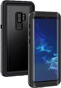 Lanhiem Funda Impermeable Samsung S9 Plus, Carcasa Resistente Al ...