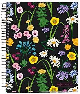 Miquelrius 46753 Notizbuch A5 140 Lineatur Horizontal Blumen Wildblumen