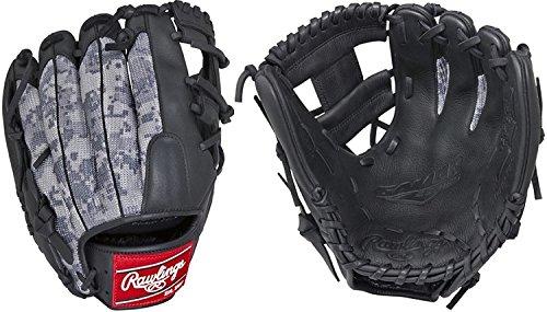 Rawlings Sporting Goods Gamer Digi Camo Mesh I Web Glove, Black, 11.5