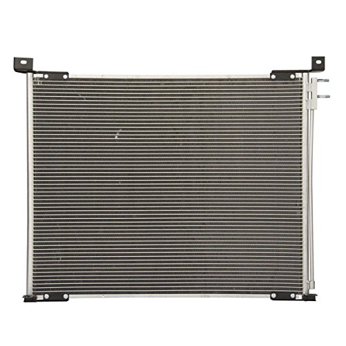 SCITOO AC A/C Condenser 3011 fit Ford E-350 Club Wagon/XL/XLT Chateau Extended/Standard Passenger Van 2-Door 6.0L 2004 (1976 Chateau)