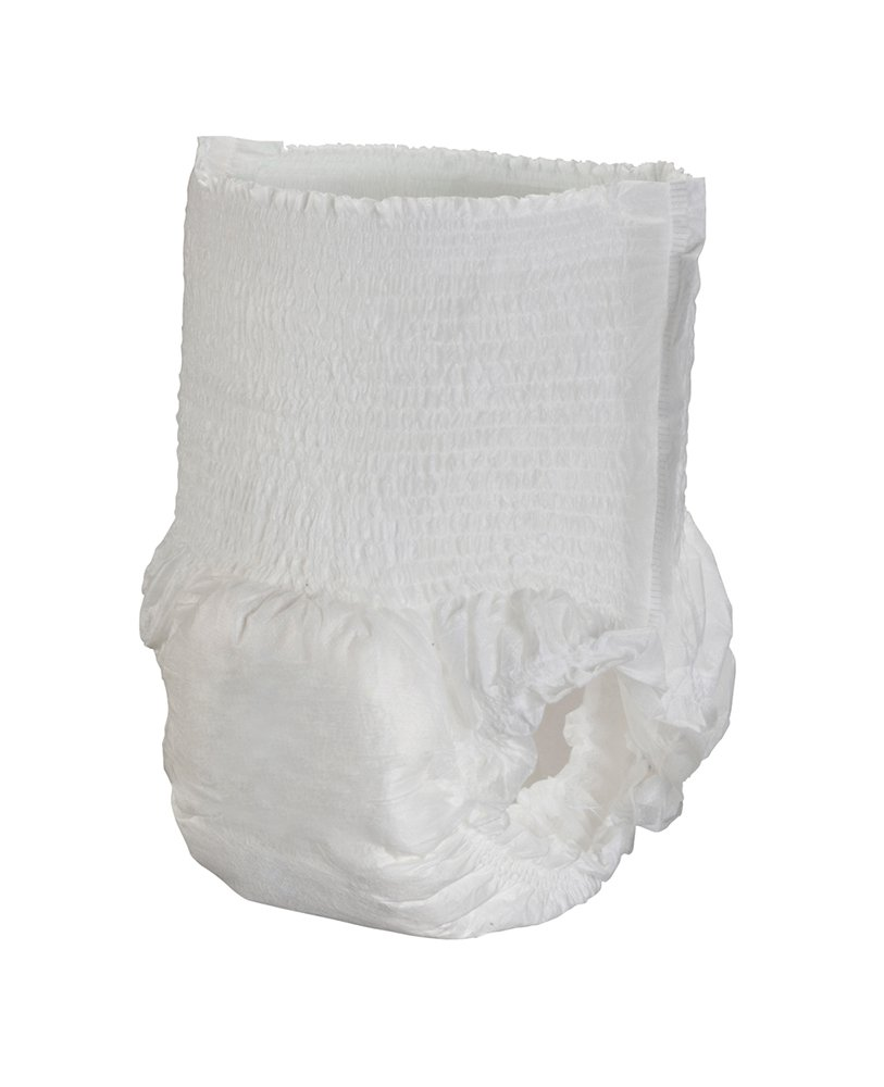 Cardinal Health UWMLG20 Moderate Absorbency Disposable Underwear, Large, Fits 44-58 in, Pack of 18