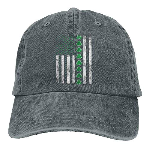 Personality Caps Hats Sports Denim Cap Irish American Flag ST. Patrick s  Day Women Snapback Caps Adjustable Dad Hat a32826374423