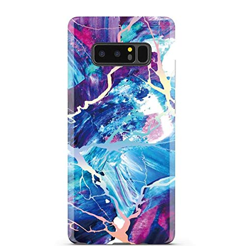 4deb63b3f7 Image Unavailable. Image not available for. Color: Majestic Holo Rainbow  Marble Phone Case Samsung Galaxy ...