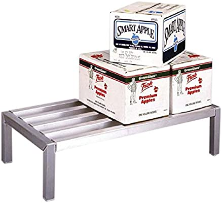 4000# Capacity 24 x 12 x 36 24 x 12 x 36 Newage Industrial 4008 Lifetime Series Dunnage Rack