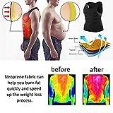 Lechiry Men Neoprene Sweat Sauna Vest Workout Waist Trainer Slimming Body Shaper Weight Loss Tank Top