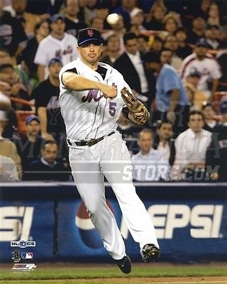 David Wright New York Mets infield throw third base 8x10 11x14 16x20 photo 498 - Size 8x10