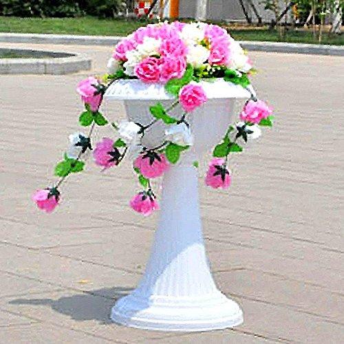 (Efavormart 4 PCS Classic Italian Inspired Wedding Event Decorative Flower Pot 23