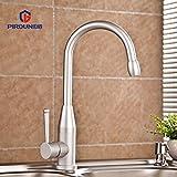 Kitchen faucet, sink faucet, space aluminum heat sink tap