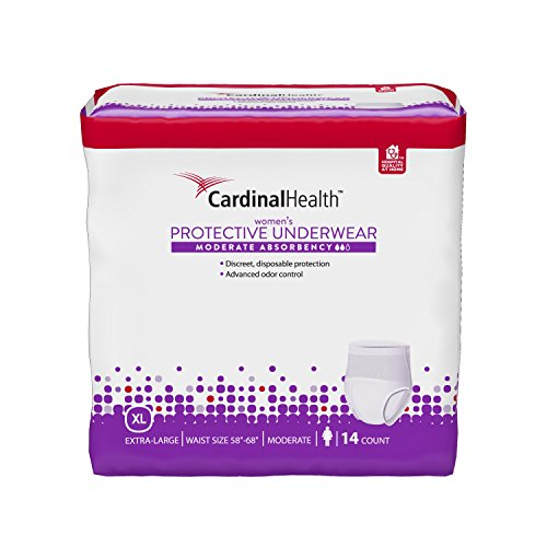 cardinal-health-ufmod-xl-womens-underwear-moderate-absorbency-extra-large-14-ct