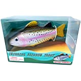 Rainbow Trout, Realistic Swimming Fish Water Pool & Bath Toy 8