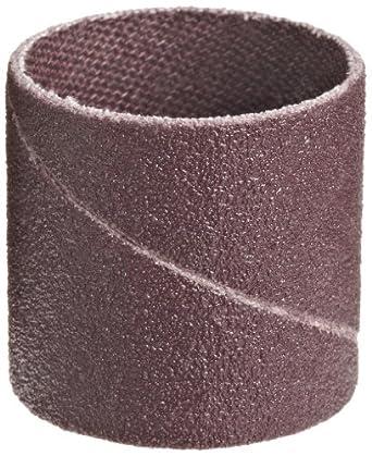 "3M  Cloth Band 341D, 1"" Diameter x 1"" Width, P120 Grit, Brown (Pack of 100)"