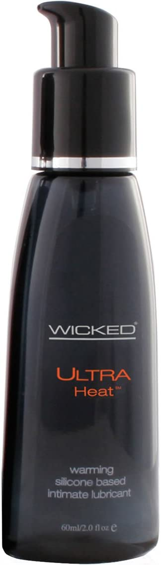 Wicked Ultra Heat Warming Lube 2oz ( 2 Pack ) by Wicked Sensual Care Collection