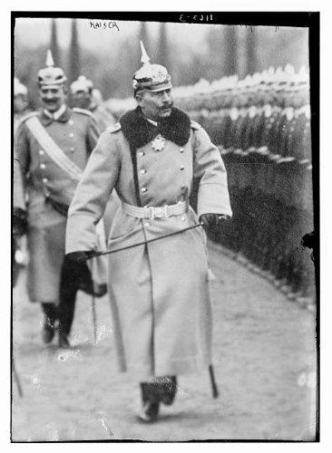 Photo: Kaiser of Germany,Wilhelm II,1859-1941,German Emperor,King of - Of King Prussia Map