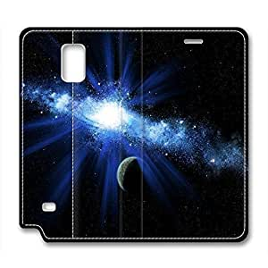 DIY Universe Design Leather Case for Samsung Note 4 Radiant LightKimberly Kurzendoerfer