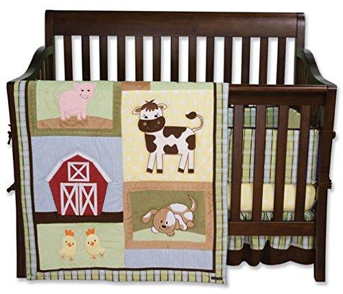 Trend Lab 40037 Nascar - 3 Piece Crib Bedding Set